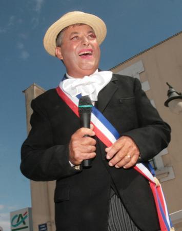 intronisation du maire de La Chaume